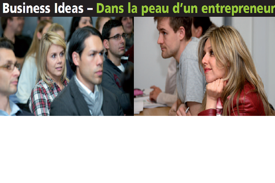 Business eXperience - Venture Ideas 2015