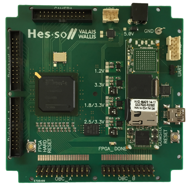 CubeSat processing board - HES-SO Valais-Wallis