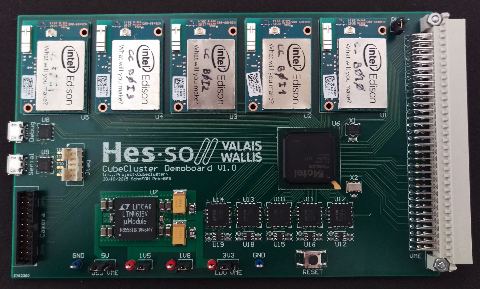 Low-Power High-Performance Unit for CubeSat - HES-SO Valais