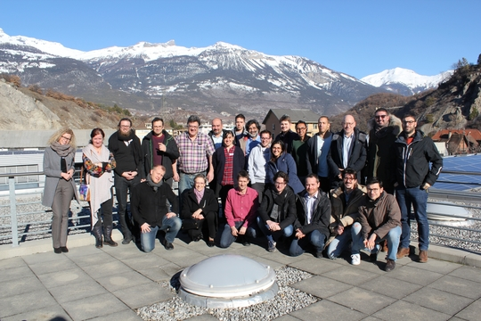 Kick off a European H2020 research project