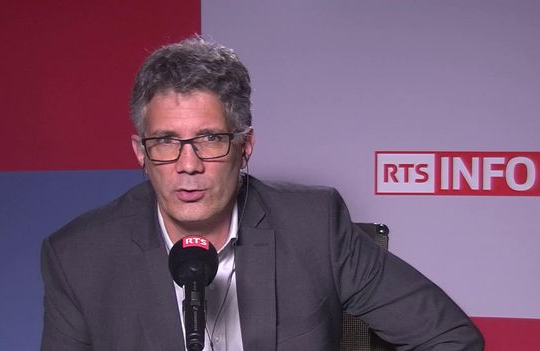 Dominique Fumeaux interviewé par la RTS à propos du retrait de Crans-Montana du Magic Pass
