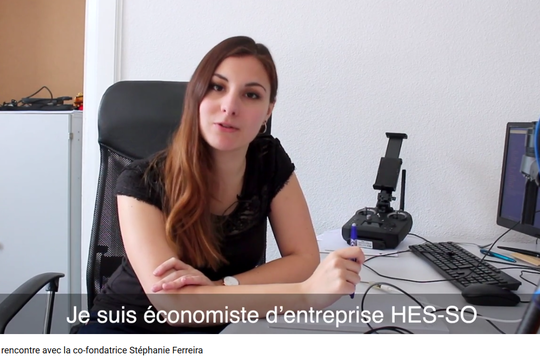 Rencontre avec Stéphanie Ferreira, co-fondatrice d'une start-up issue de Business eXperience @HES-SO Valais-Wallis