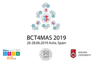 Organisation of a 2nd international workshop on the Blockchain (BCT4MAS)