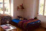Large bedroom for rent in a house share, Sion (Platta, 5mins walk from HES.SO)