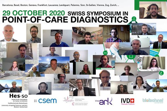 Success for the online edition of the Swiss Symposium in Point-of-Care Diagnostics 2020