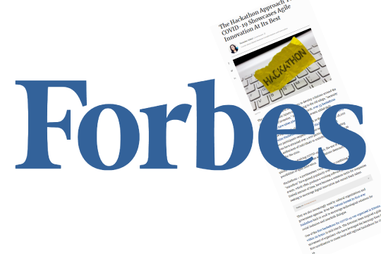 Sharing experience in Forbes