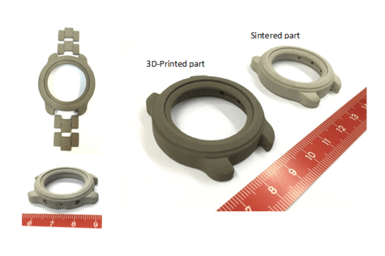 Nickel-free stainless steel parts by 3D Printing